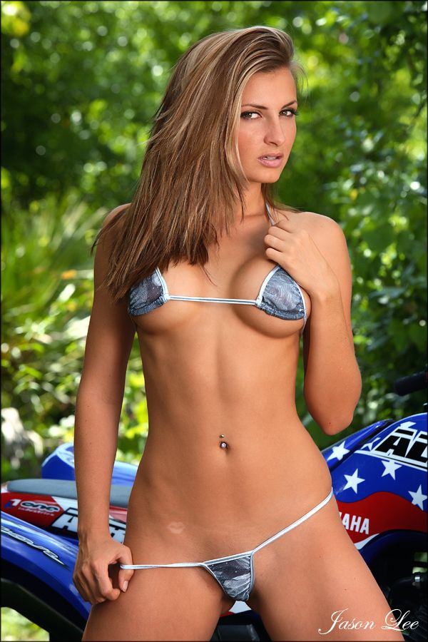 babes in bikinis on dirtbikes
