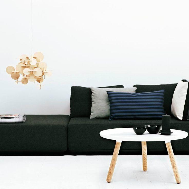Normann Copenhagen BAU - Lampa wisząca Drewno naturalne 57cm