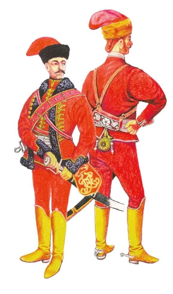 Francis II Rákóczi's bodyguards, early 18th century