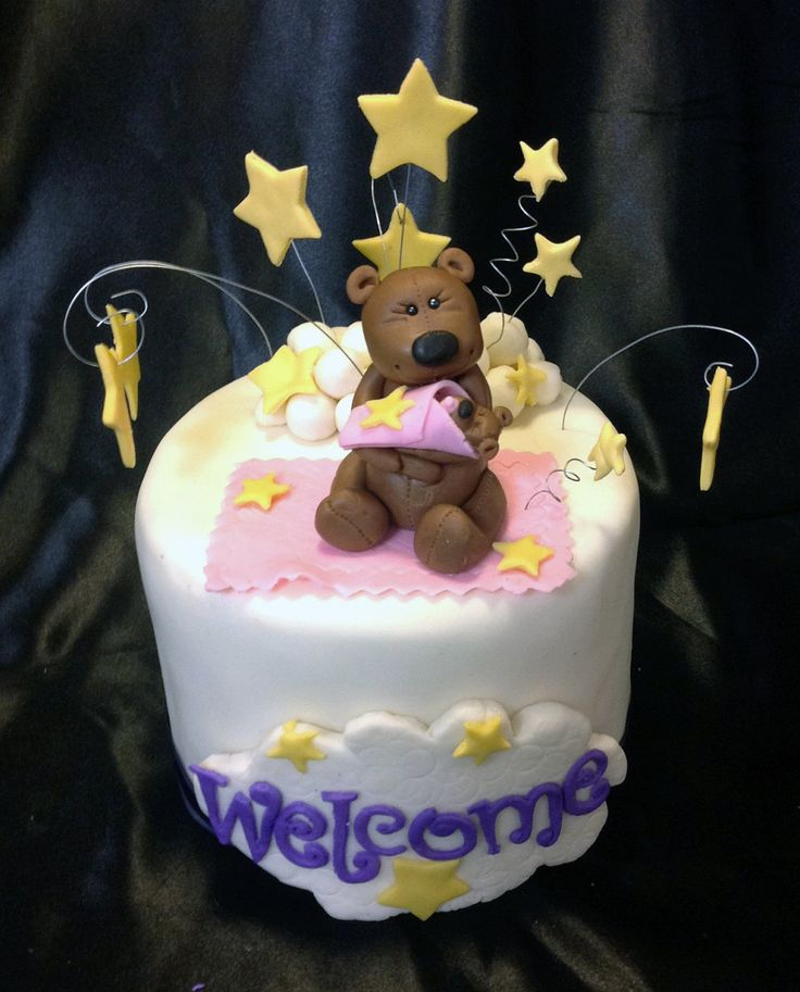 Baby Boy Cake Topper Ideas