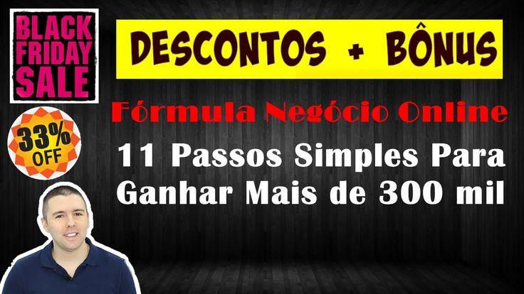 Black Friday 2016 Fórmula Negócio Online