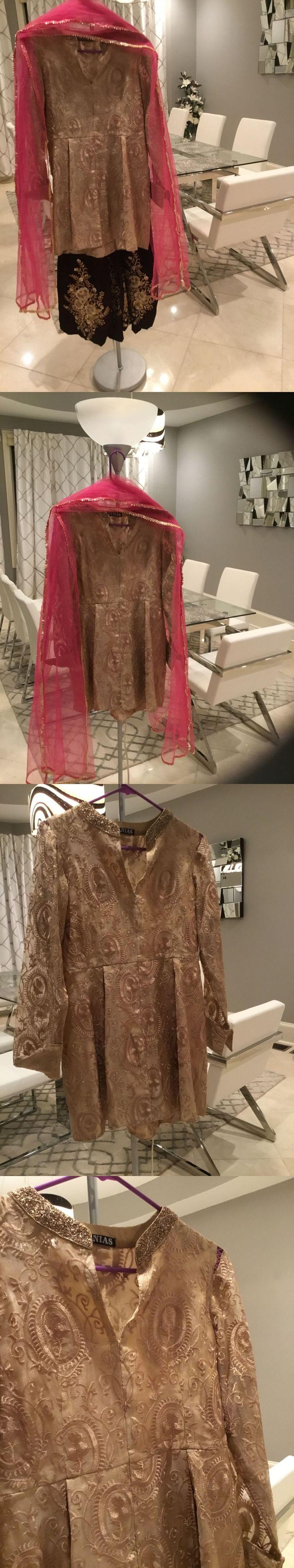 Salwar Kameez 155249: Pakistani Indian Shalwar Kameez Not Asim Jofa Maria B Agha Noor Sana Safinaz Eid -> BUY IT NOW ONLY: $375 on eBay!