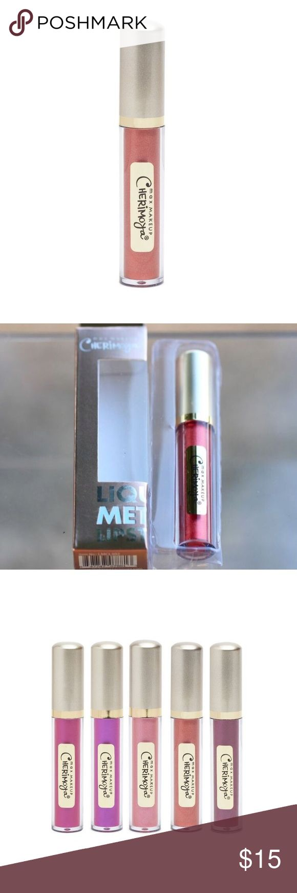 🆕[cherimoya] liquid metal lipstick • style name: liquid metal lipstick • color: the maker's mark (copper/red) • see above for details from company website • condition: new in box, never used ____________________________________________________ ✅ make an offer!     ✅ i bundle! ✅ posh compliant closet ⛔️ no trades 🛍 boutique item Max Makeup Cherimoya Makeup Lipstick