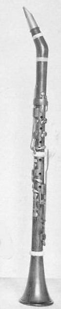 Alto Clarinet in E-flat, Johann Friedrich Wilhelm Wernicke (German, fl. 1849–1870), Boxwood, brass, German, 1858-64