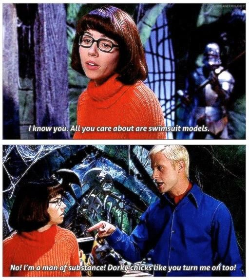 Scooby Doo. Best line in the movie!