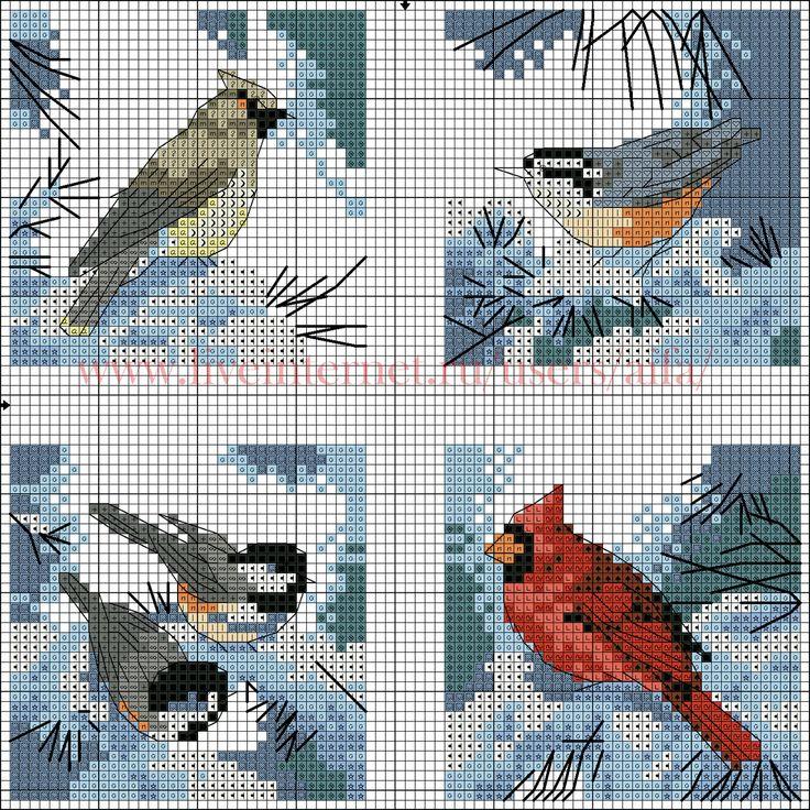 ц. WINTER BIRDS