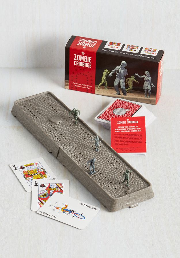 An undead cribbage board. | 31 Ridiculously Awesome And Inexpensive Things To Ask For This Year