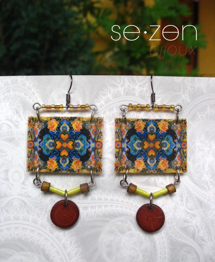 Cercei Deco (38 LEI la SEZON.bijoux.breslo.ro)
