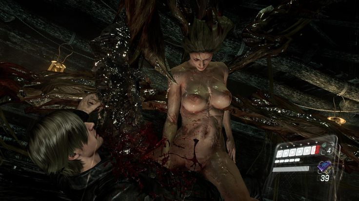 Resident Evil 6 | Nude-патчи для игр