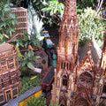 Espectáculos y eventos en navidad en Nueva York: Tren y ciudad en miniatura en el botánico