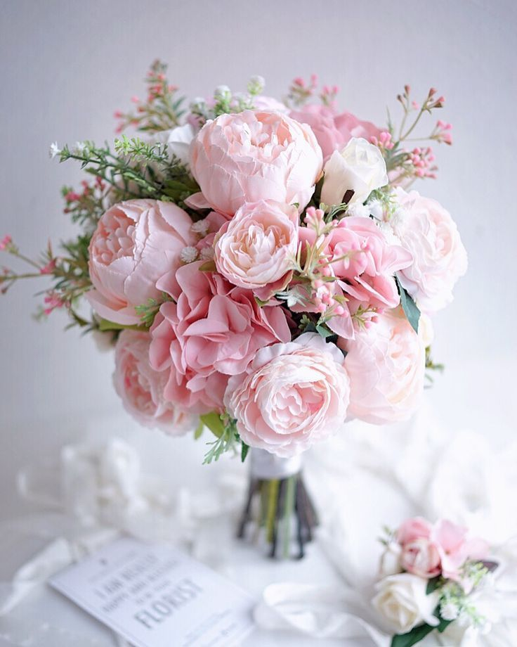 Pin On Wedding Bouquets Pink