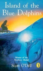 Island of the Blue Dolphins by Scott O'Dell. The true story of an Indian girl marooned on a desolate island.