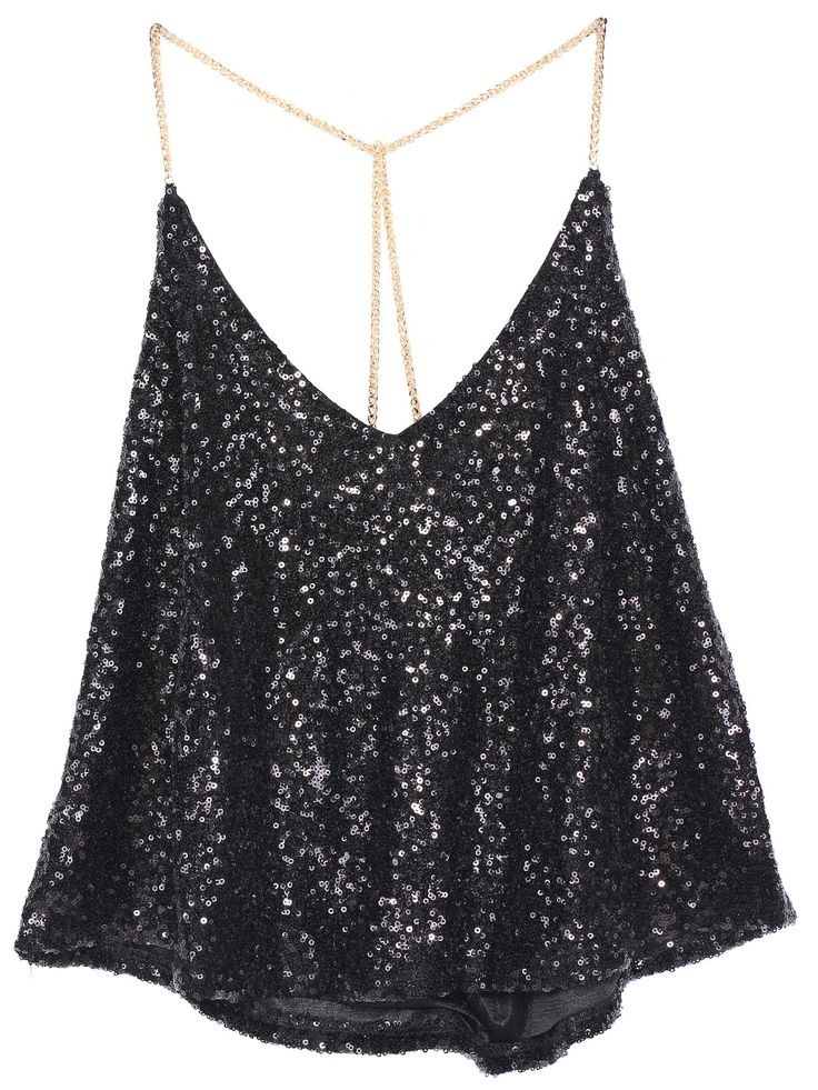 Shop Black Criss Cross Sequined Vest online. Sheinside offers Black Criss Cross Sequined Vest & more to fit your fashionable needs. Free Shipping Worldwide!