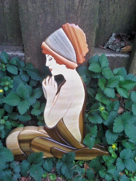 madera madera tallada 1 intarsia deer wall plaque colorfulimpressions