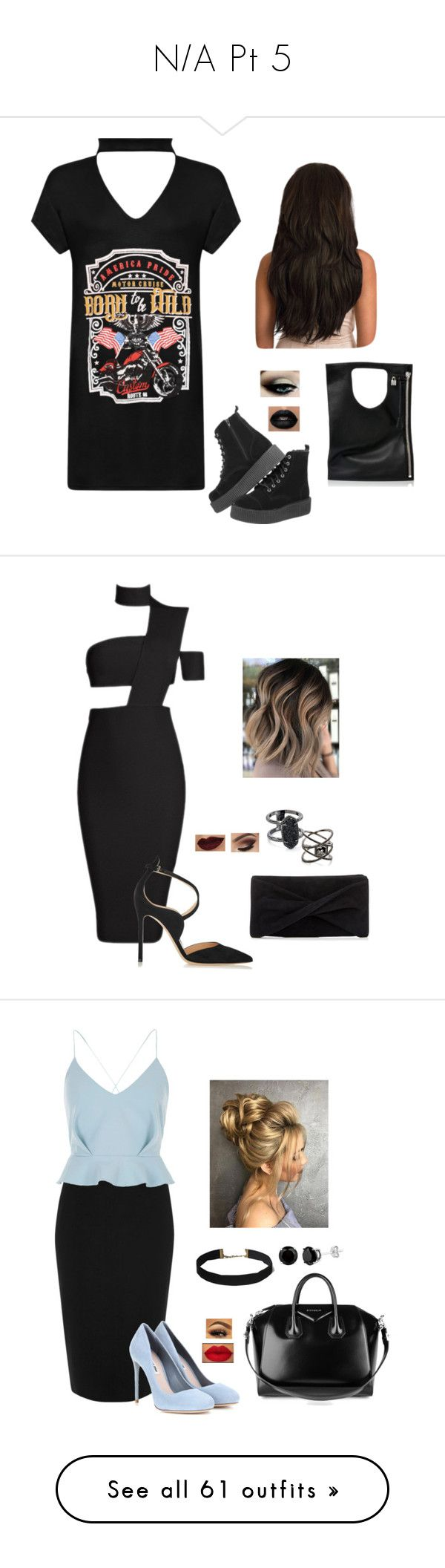 """""""N/A Pt 5"""" by terra-wendy on Polyvore featuring WearAll, Alix, Gianvito Rossi, Reiss, Kendra Scott, Eva Fehren, River Island, Miu Miu, Givenchy and Lord & Taylor"""