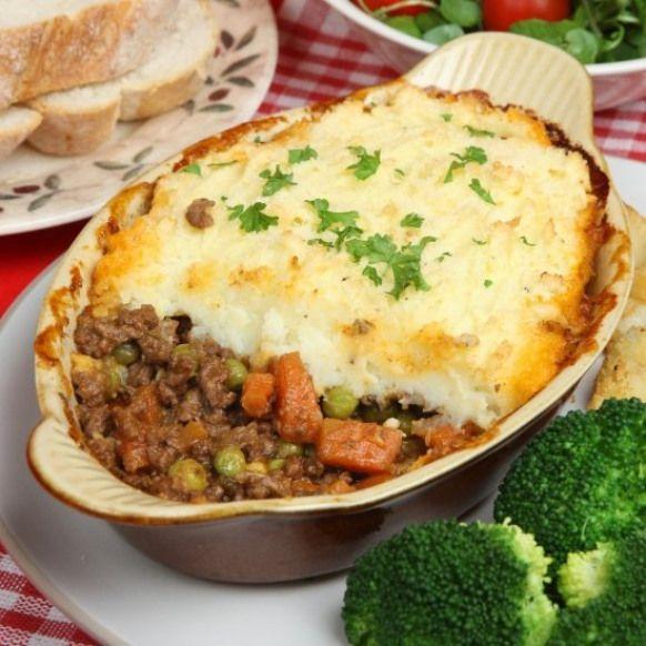 Delicious Easy Shepherds Pie Recipe Ground Beef Recipes Recipe Recipes Shepherds Pie Recipe Food