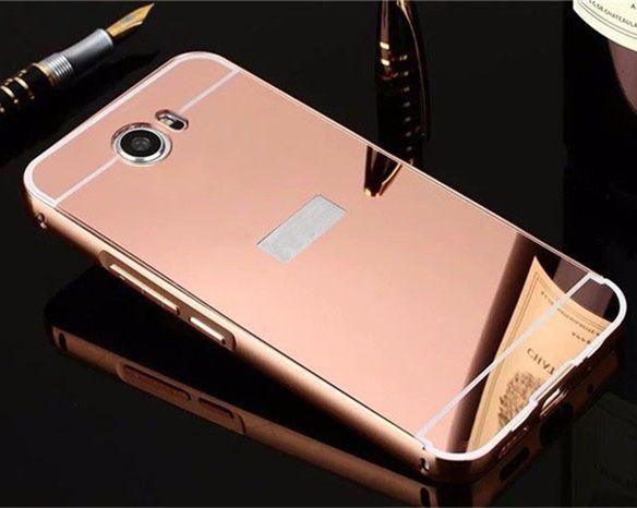 >> Click to Buy << Luxury Mirror Plating Case Cover Metal Aluminum Bumper+Acrylic PC 2 in 1 capa para For Huawei Y5 II Y5 ii Y52 5.0 inch  #Affiliate