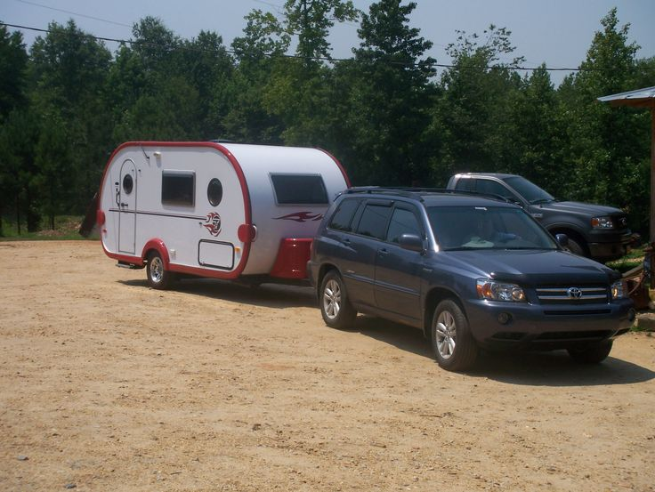 my t da trailer and hybrid highlander tow vehicle camping pinterest recreational vehicles. Black Bedroom Furniture Sets. Home Design Ideas