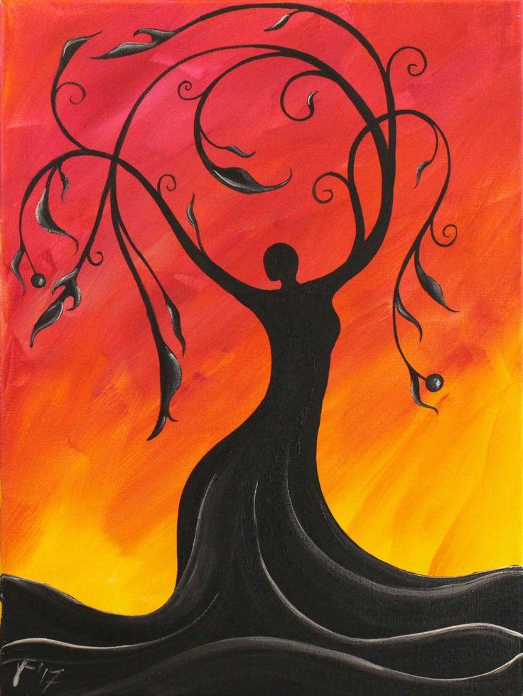Whimsical Tree Goddess