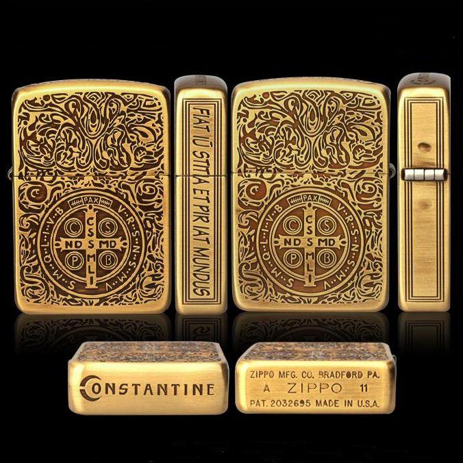 Premium 5 Sides Constantine Zippo Lighter