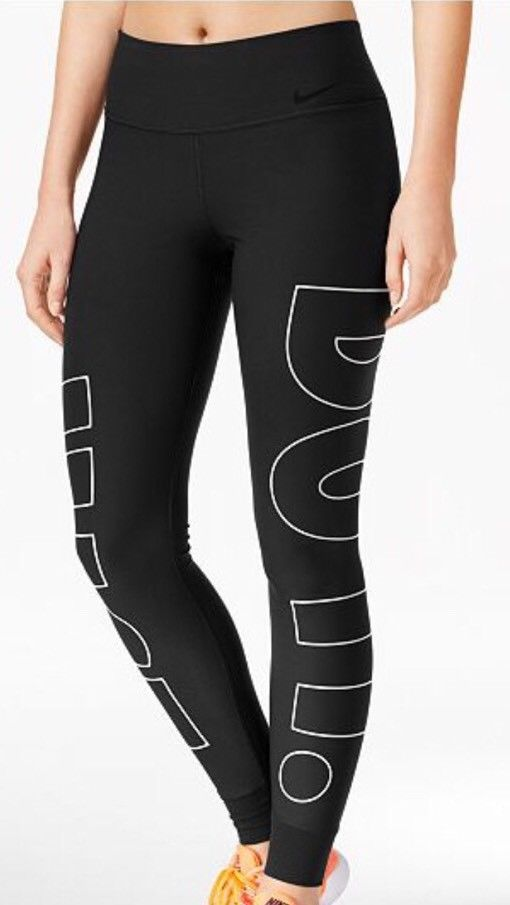 04da8f63348d2 NWT Nike Legend power Just Do It Training Legging Xsmall Xs 887224372768    eBay