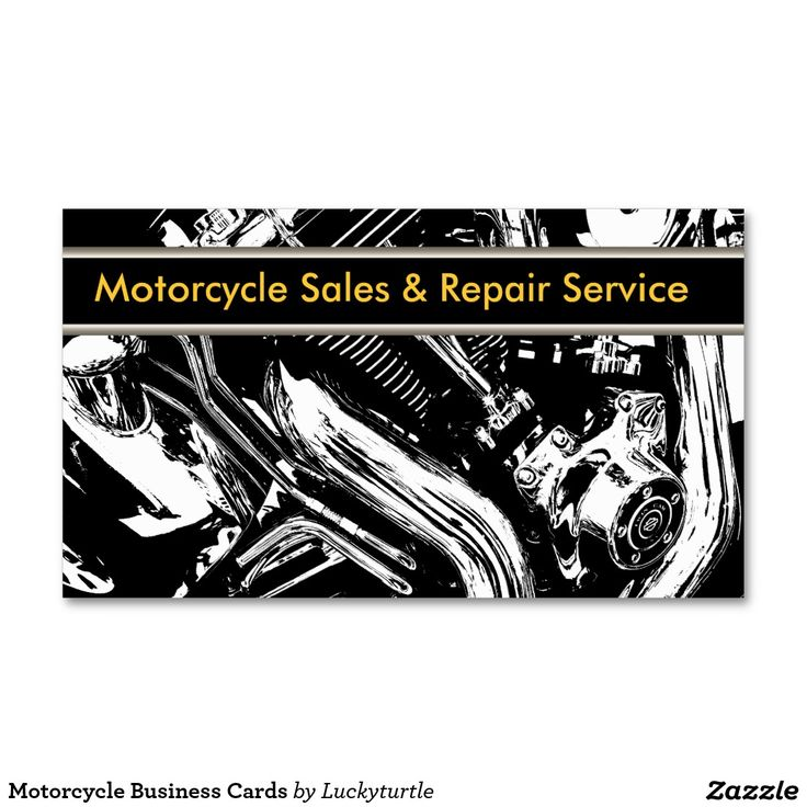 25 best Motorcycle Themd Business Cards images on Pinterest ...