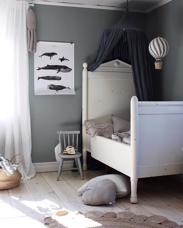 'Kētos' poster in the beautiful kids room of Emily Slotte