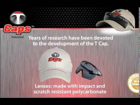 The TCap is a simple product. High technology along with numerous 3D designs were used to find the proper frame and lens angles so that the sunglasses could adapt to most faces. A unique hinge and sliding system has been designed to allow the user to adjust the lenses to his face for vision and protection comfort.