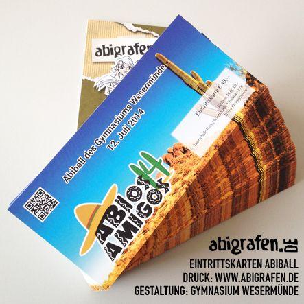 #Eintrittskarten #Druck für #Abiball, #Abiparty oder #Abifete - www.abigrafen.de