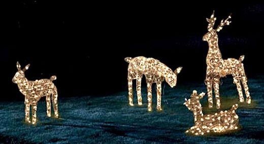Deers lighting for out door | Outdoor LED Christmas Lights