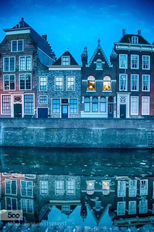 Middelburg - Blue hour by paulhoo