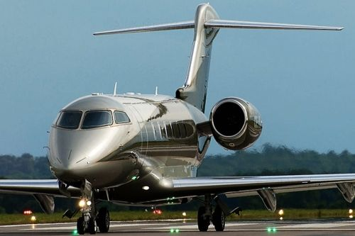 Flying in Style via private jet.