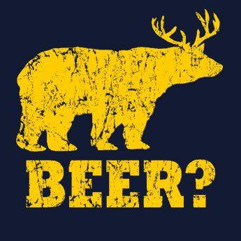 FUNNY TSHIRT Funny shirt bear T-Shirt beer T Shirt  drinking T Shirt geek shirt fraternity (also available on crewnecks and hoodies) SM-5XL