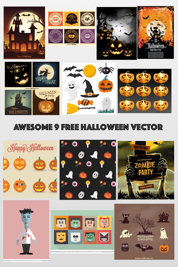 Below is my list of top 13 Free Halloween Vector Perfect For Halloween Designs