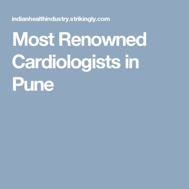 Most Renowned Cardiologists in Pune