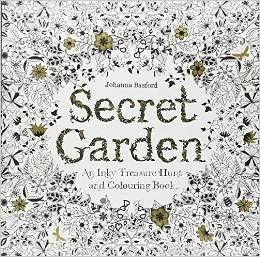 Secret Garden Color Book