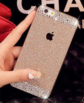 iPhone 6 Plus Case ,LA GO GO(TM) Beauty Luxury Diamond Hybrid Glitter Bling hard Shiny Sparkling with Crystal Rhinestone Cover Case for Apple iPhone 6 Plus (5.5) - Retail Packaging (Gold, iPhone 6 Plus) LA GO GO http://www.amazon.com/dp/B00V49NGBQ/ref=cm_sw_r_pi_dp_STlJvb030XFSE