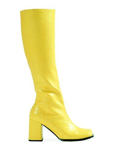ELLIE GOGO Womens Yellow Boots, Size - 10