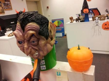Halloween with Payoneer's customer support team!
