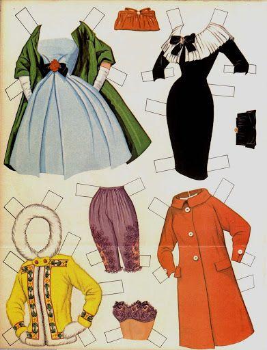 Antique paper dolls and paper toys to make - Joyce hamillrawcliffe - Álbumes web de Picasa