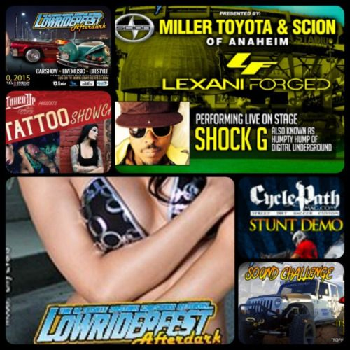 NONSTOP ACTION ALL DAY LONG! SAME DAYSAME TIMESAME PLACE SHOCK G from Digital Underground Performing Live On Stage #shockg #liveonstage LOWRIDER HOP! Sponsored by CBM Hydraulics #lowriders #lowriderhop #hopping CAR AUDIO SOUND CHALLENGE Sponsored by Soundstream @soundstreamusa #soundstream #caraudiosoundchallenge #caraudio #mecarulesapply #meca TATTOO SHOWCASE Sponsored by Inked Up Industry Magazine #tattooshowcase #inkedupindustrymagazine #inled #inkedup #tattoos #tatted CARSHOW All Makes…