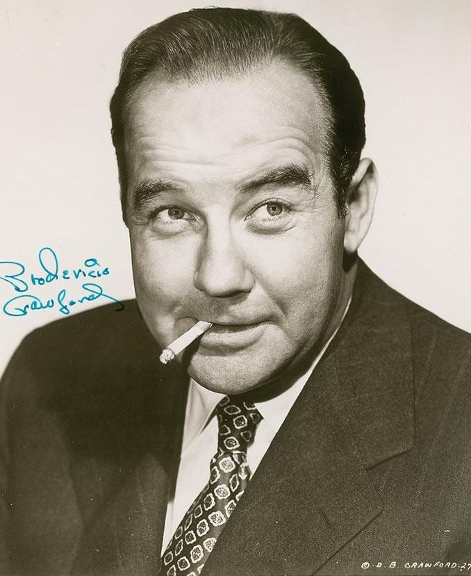 Broderick Crawford, 1911 - 1986. 74; actor and son of Helen Broderick.