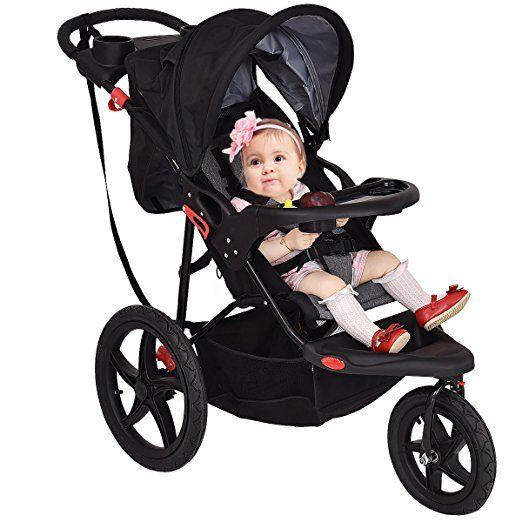 Amazon.com : Costzon Baby Jogger Stroller Lightweight w/ Cup Phone Holder : Baby
