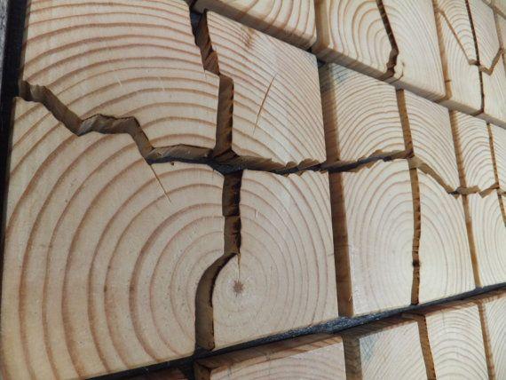 Einzigartigen Holzwand Kunst 53 x 32 x 15 von UniqueWoodArtwork