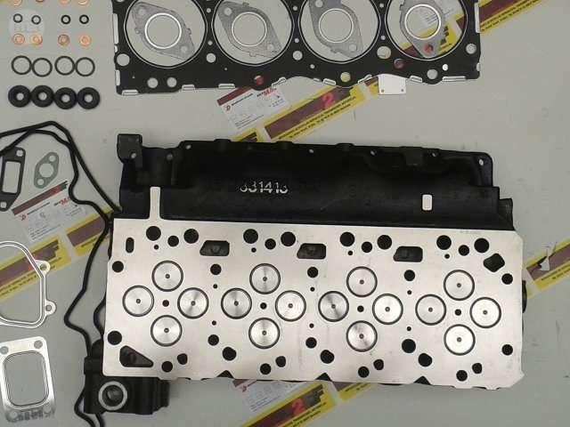 . Disponemos de culatas nuevas originales de fiat iveco para motores f4ae 0481 , f4ae0481e f-4ae f4-ae cummins isbe4 isbe montado en los modelos eurocargo 150e 18k tector, 150e18 , 3.920 cc 4 cilindros 16 v�lvulas. . . . . culata nueva desnuda por ## 960,00  �## ..... Consulta por v�lvulas, pistones, camisas, cojinetes de cigue�al, junta de culata, juntas de motor, etc ..... Material de primeras marcas, garantizado ....