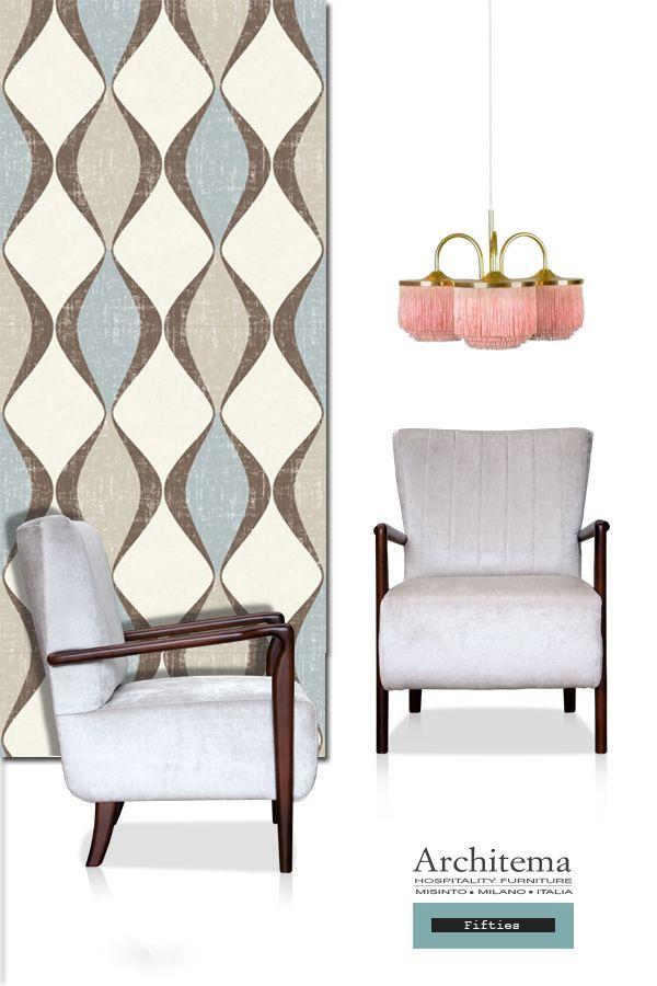 ARCHITEMA - LUKE armchair FIFTIES style