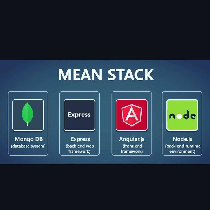 MEAN Stack  #mongodb #express #angularjs #nodejs #javascript #typescript #framework #html #http #java #javaprogramming #programming #development #webdevelopment #mysql #android #oracle #coffee #class #swing #object #app #application #code #coding #cloud #system #geek #app