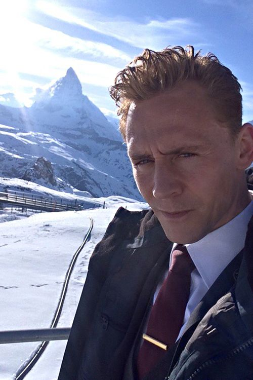 """Tom Hiddleston: """"Q&A time! Here's a picture from the first day of principal photography. #TheNightManager. #AskNightManager."""" Tweet: https://twitter.com/twhiddleston/status/722599767533096960"""