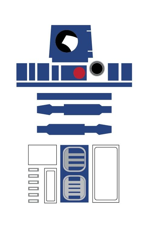 R2d2 template. Even on a white sweatshirt with a hood....but it's gotta have the tutu! Too cute!