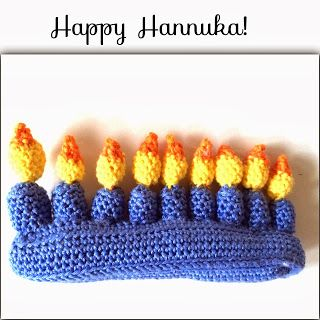 Annoo's Crochet World: Hannuka's Menorah Free pattern - Cute for Hanukkah Diy Hanukkah, Hanukkah Decorations, Hannukah, Crochet World, Crochet Designs, Crochet Patterns, Crochet Ideas, Amigurumi Patterns, Jewish Crafts